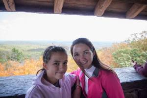 Lovely Blue Hills hike with my niece